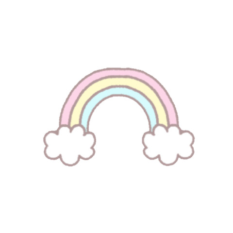 『        虹  🌈  が   綺 麗  で す ね